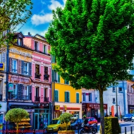 Place Galignani, Corbeil-Essonnes, France