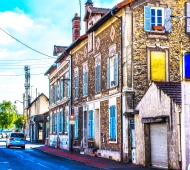 Rue Saint Spire, Corbeil-Essonnes FRANCE