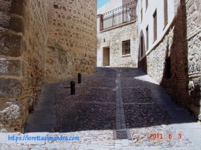 On a walking tour of the Old Jewish district, Toledo, Spain.