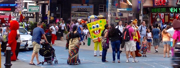 """""""The Great White Way"""" – Manhattan's theater district"""