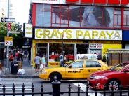 Can't visit New York without a stop at Gray's Papaya