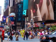 """The Great White Way"" – Manhattan's theater district"