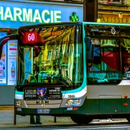 RATP Bus 60, Rue de Ordener, Paris, France
