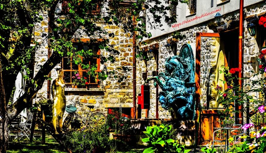 Garden, Grande Rue 77630 Barbizon, France