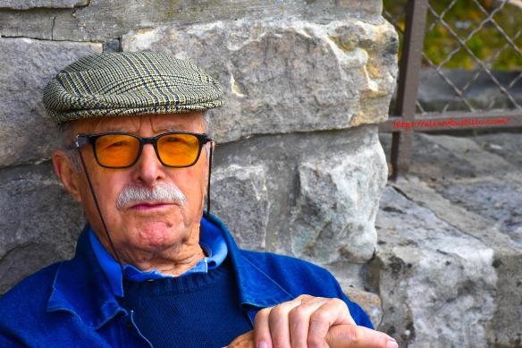 Portrait: Street Vendor, Grande Rue, Office du Tourisme officiel de Barbizon, Barbizon, France