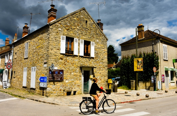 Bicycling, Rue Grande, Barbizon, France