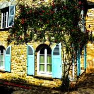 Rue Notre Dame, Milly-la-Forêt, Île-de-France, France