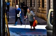 Strolling In Barrio Sarria, Barcelona, España
