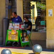 Sueca Lottery Stand