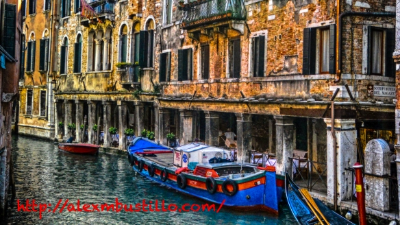 The Canals on Venice, Italy