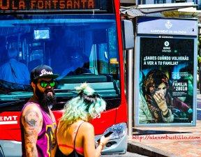 On The Streets of Valencia, España