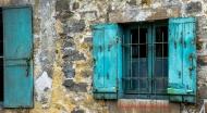 Window Detail, rue Grande, Barbizon, France
