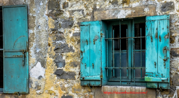 Window Detail, rue Grande, Barbizon, France