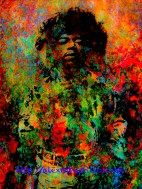 Jimi Hendrix – Standing At The Watchtower Portrait