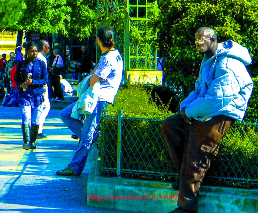 Out In The Street, Chatelet-Les-Halles, Paris, France