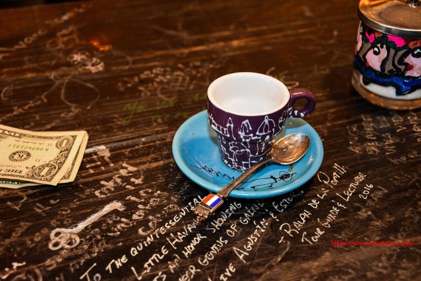 Little Havana - Cuban Coffee, French Spoon, Engraved Key