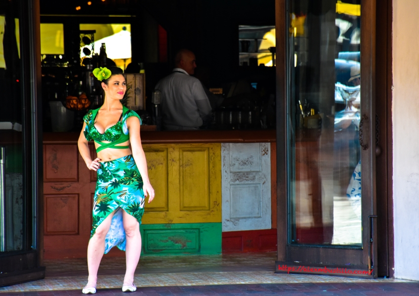 Little Havana Street Portrait - Ball & Chain, 1513 SW 8th St, Miami, FL 33135, USA