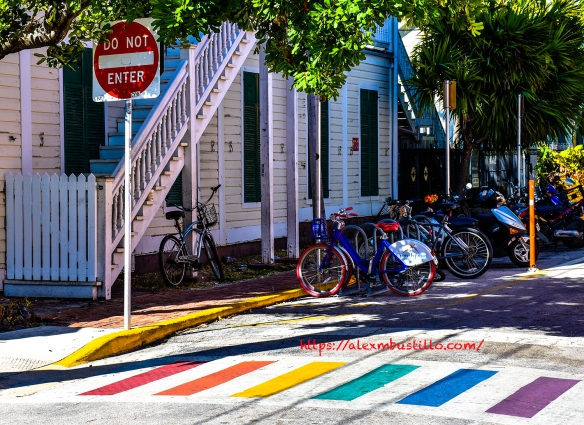 Key West, Florida - Bike Parking