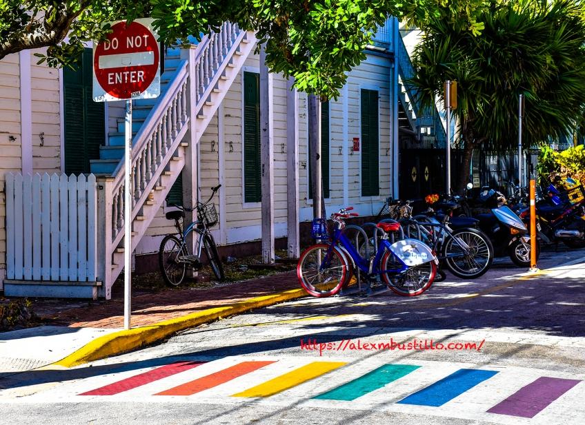 Key West, Florida - Bike Parking