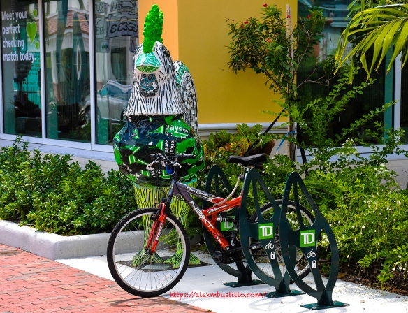 Key West, Florida - The Rooster & The Bike