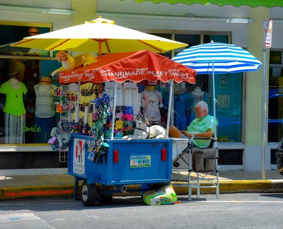 Key West Portrait Working