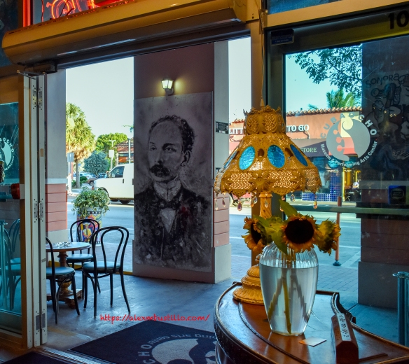 Little Havana Portrait - Ball & Chain Marti Interior