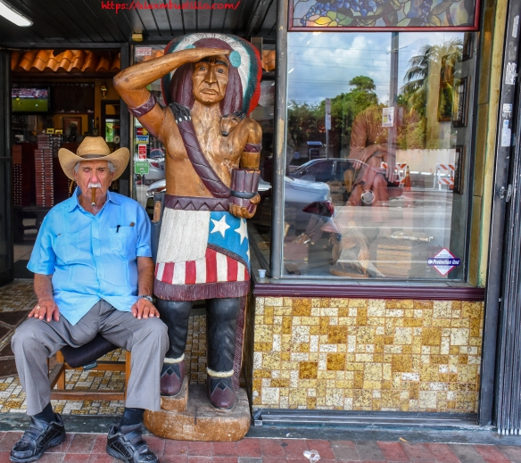 Little Havana Portrait - Cowboy & Indian