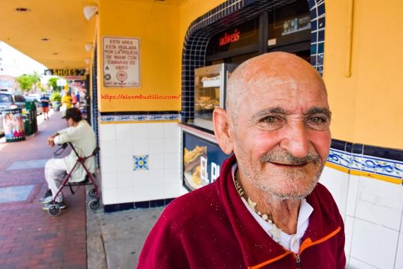"Little Havana Street Portrait ""El Calvito"""