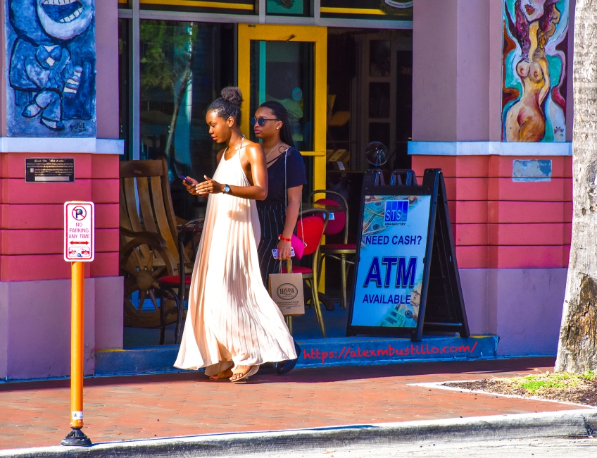 Little Havana Street Portrait - Quinceañera