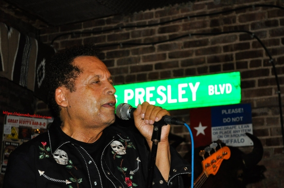 Rocking With Garland Jeffreys On Elvis Presley Blvd