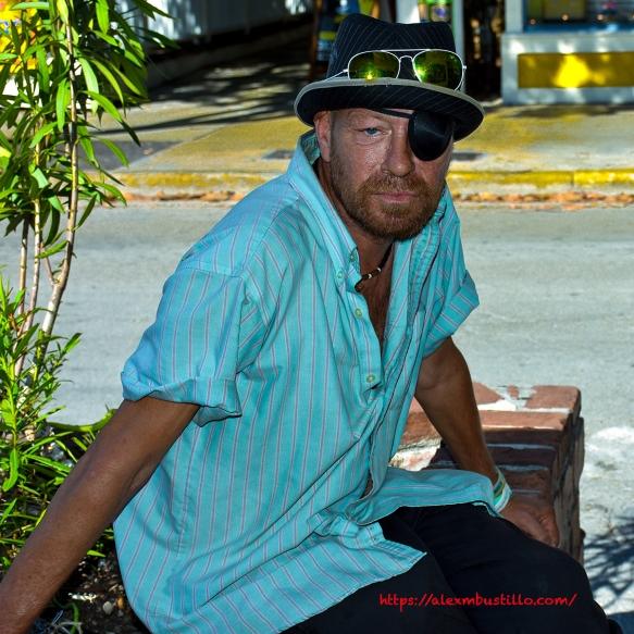 Street Portrait, Key West, Florida