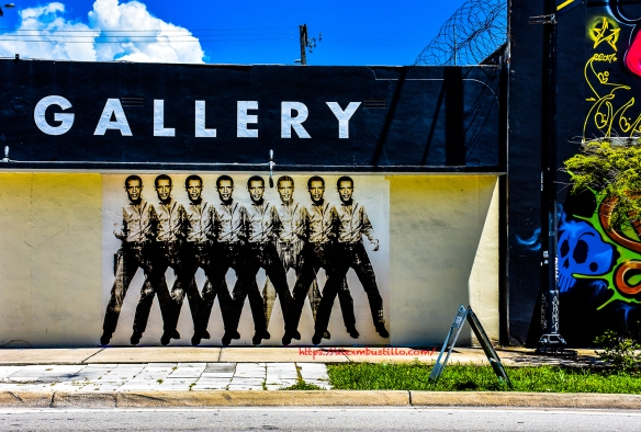 Wynwood Portrait - Elvis Obama Warhol