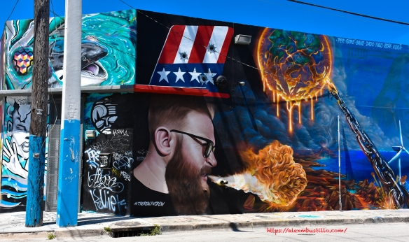 Wynwood Portrait - Firebreathing