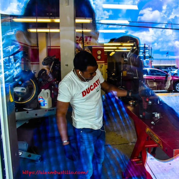 Wynwood Portrait - Working In The Shop