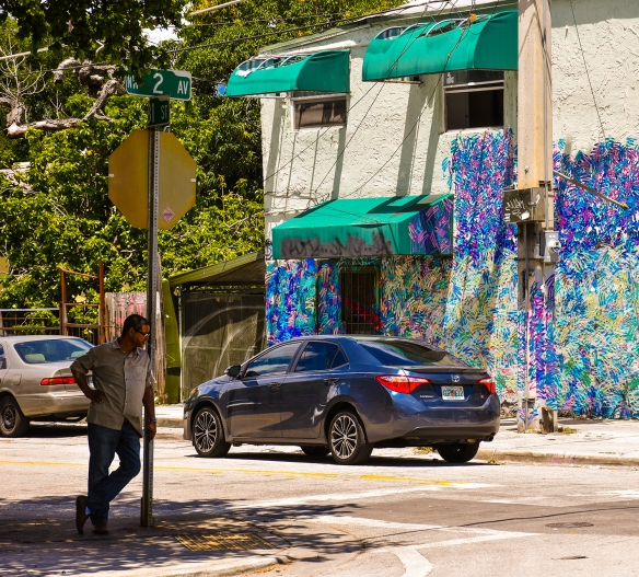 Wynwood Streetcorner NW 2nd Ave Portrait