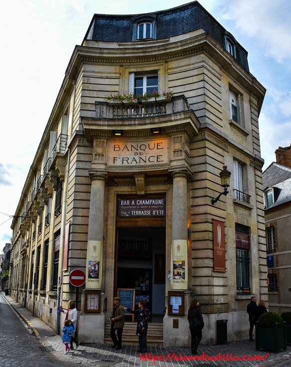Banque De France, Épernay, France
