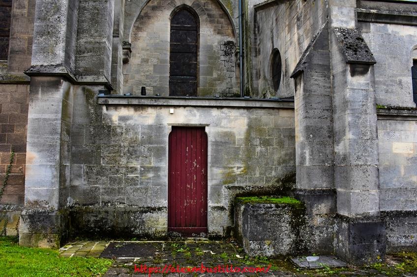 Church Facade, Centre-Ville, Épernay, France