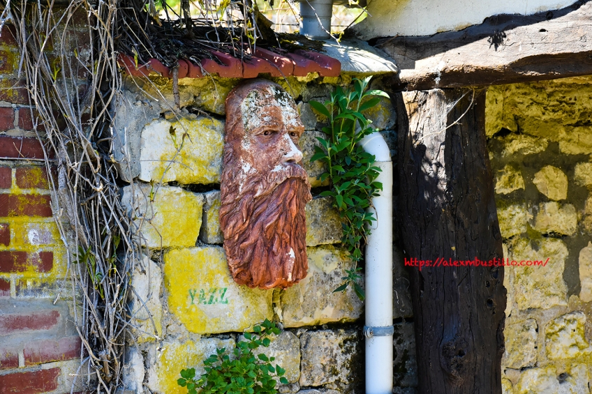 Claude Monet, Street Art, Giverny, France