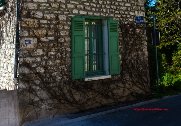 Facade, 40 rue Claude Monet, Giverny, France