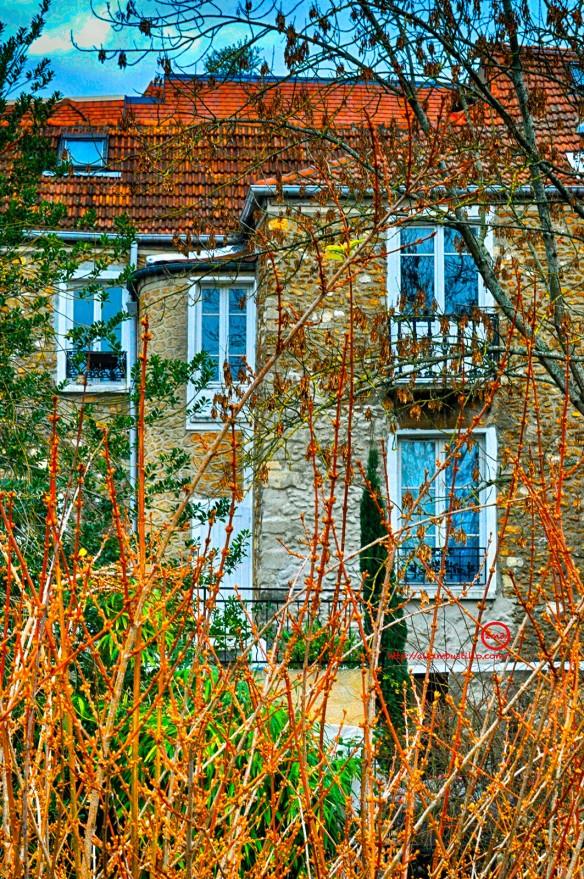 Meulière Corbeil-Essonnes, FRANCE