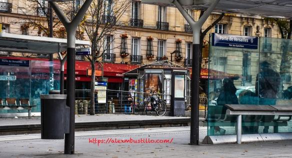 Tram Station, Porte de Versailles, Paris