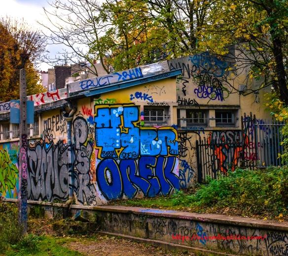 Chemin de fer de Petite Ceinture, Porte de Versailles, Paris