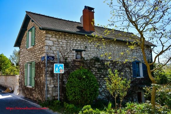 rue Claude Monet at rue de La Dime, Giverny, France
