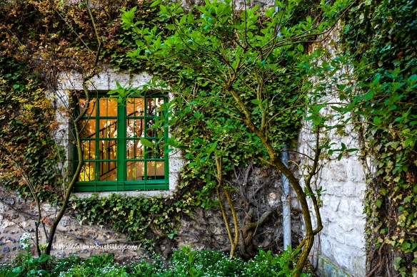 Window, Chez Claude Monet, Giverny, France
