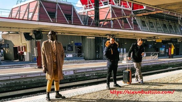 Styling for the Train, Juvisy, France