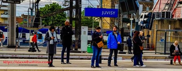 Gare de Juvisy RER C-D