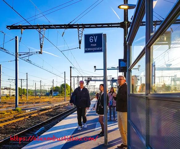 Juvisy RER C 6V Pour Rebroussement