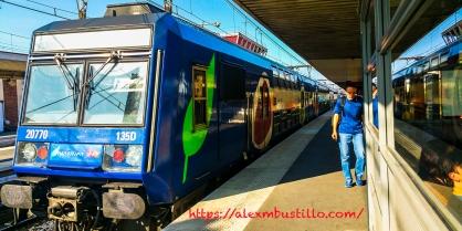 Juvisy RER-D Transilien
