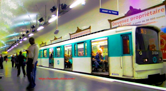 RATP- Metro Gare Auber, Paris, France