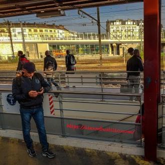 Juvisy Gare RER C Quai Soleil 0720 Heures Juin 2019